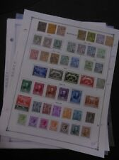 MONACO : Old time nice & clean Mint & Used collection on album pgs w/many Better
