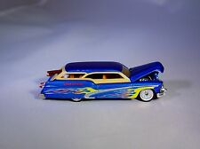 100% HOT WHEELS '50 BUICK WOODIE WAGON W/ SURFBOARD RUBBER TIRE LIMITED EDITION