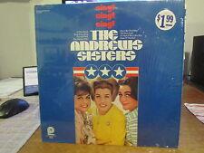 """REISSUE POP LP - THE ANDREWS SISTERS - PICKWICK SPC 3382  """"SING! SING! SING!"""""""