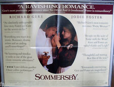 Cinema Poster: SOMMERSBY 1993 (Review Quad) Richard Gere Jodie Foster