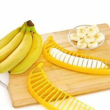 Banana Fruit  Slicer Cutter Chopper Vegetable Cucumber Peeler Kitchen Tool