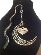 Big sister.. filligree book mark silver plated