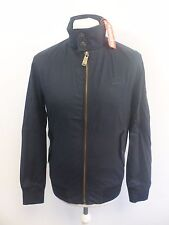 Superdry Longhorn Harrington - Navy Blue - Mens Medium - Box6615 D