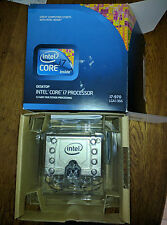 Intel Core i7 970: HexCore 12 Threads 3.2GHz Turbo 3.46GHz 12MB Practically NEW!