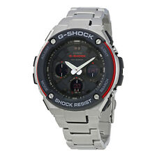 Casio G-Steel Black Dial Mens Stainless Steel Sports Watch GSTS100D-1A4