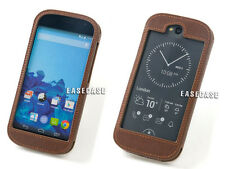 A6 EASECASE Custom-Made Genuine Leather Case For Yotaphone2