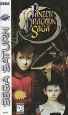 Panzer Dragoon Saga - Sega Saturn - Complete - From Personal Collection - Rare