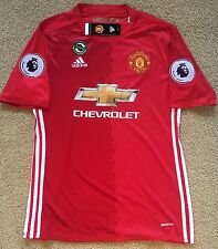 Paul Pogba - Manchester United Home Jersey - M
