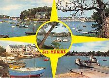 BR49139 Sainte marine le port l embouchure de l oder e le bao     France