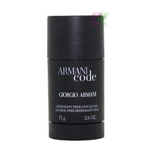 Giorgio Armani Code Men Deodorant Stick 75g For Men Fragrances New