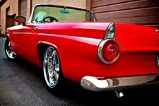 55 56 THUNDERBIRD, T-BIRD, NEW CUSTOM SHAVED CHROME REAR BUMPER