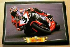 TROY CORSER RACER RIDER APRILIA CLASSIC MOTORCYCLE RACE BIKE PICTURE