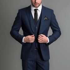3 Piece Groom Tuxedos Wedding Suit Business Evening party Suits Best Man Suits