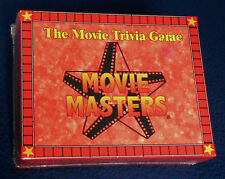 """Movie Masters"" The Movie Trivia Game For Two Or More Players 1998"