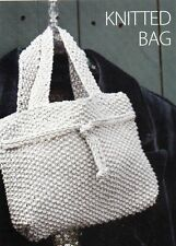 ~ Pull-Out Knit & Crochet Pattern For Two Pretty Bags To Make ~ Pics ~