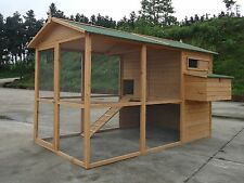 2016 GIANT Chicken Coop Poultry Cat Rabbit House CC058  upto 12 hens 8ft x 6ft