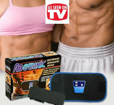 NEW ABGYMNIC TONER TONING EXCERCISE FITNESS BELT FIRM BOOST ABS SEXY MUSCLE'S