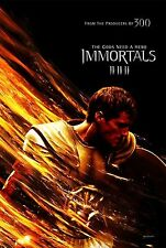 Immortals Original Double-Sided Advance Rolled Movie Poster 27x40 NEW 2011