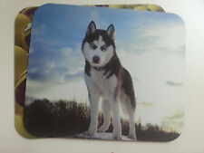 WOLF mouse pad anti-slip optical laser mouse different styles sky dog animals