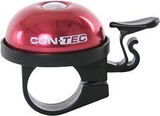 CONTEC Mini campanello Per Bicicletta In Alluminio,Qualità,rosso 2
