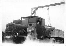 Orig. Foto Deutscher Sattelschlepper LKW am Krahn 1934