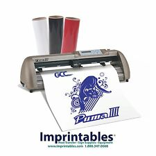 "Vinyl Cutter Package 24"" GCC Puma III and Heat Transfer Supplies"
