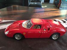 Burago Ferrari 250 LeMans 1965  Red 1:18 Made in Italy