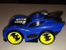 2007 Fisher-Price Batman Blue Zoom Shake & Go Batmoblie Used Ages 3
