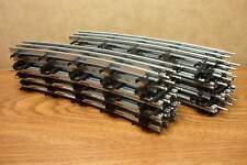"LIONEL 54"" DIA. CURVE TUBULAR TRACK TRADITIONAL O GAUGE  16 PIECES (full Circle)"