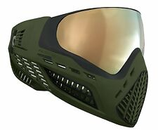 Virtue Vio Ascend Paintball Mask MASTER CHIEF Olive with Chromatic Thermal Lens