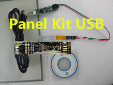 "NEW 15"" 4 Wire Resistive Touch Screen 346X217mm USB Driver Kit DIY LCD Monitor"