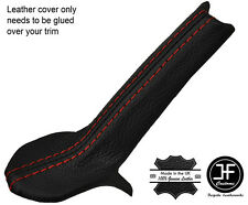 RED STITCH HANDBRAKE TRIM LEATHER COVER FOR PORSCHE 986 BOXSTER & CARRERA 996