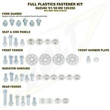 Suzuki  RMZ250 10-16 / 450 08-16 FULL NUT & BOLT FASTENER SET FOR PLASTICS KIT