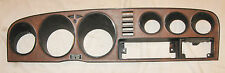 1976 1977 Toyota Celica Main Dash Finish Panel Trim Faux Woodgrain RA24 RA29