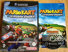 MARIO KART DOUBLE DASH for NINTENDO GAMECUBE & Wii COMPLETE & TESTED