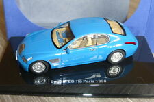 BUGATTI EB 118 PARIS MOTORSHOW 1998 FRENCH RACING BLUE AUTOART 50921 1/43 BLEU