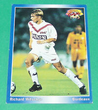 RICHARD WITSCHGE FOOTBALL CARD 1994-1995 PANINI GIRONDINS BORDEAUX LESCURE