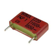 5 WIMA FKP1 Polypropylen Folien-Kondensator FKP 1 1600V 220pF 15mm 024081