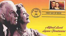 HERITAGE CACHETS LIMITED EDITION FIRST DAY COVER FDC -1999 LUNT & FONTANNE SONGS