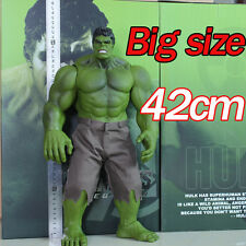 42cm Marvel Avengers Super Hero Incredible Hulk Action Figure Toy Collection