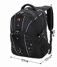 "wenger  Swiss Gear17"" Men Travel Bags Macbook laptop hike backpack 7110"