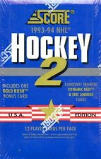 1993/94 SCORE SERIES 2 USA EDITION HOCKEY BOX