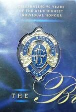 Rare and beautiful 2014 90th ANNIVERSARY OF THE BROWNLOW AFL MEDAL PNC FDC New