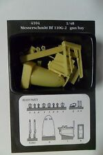 AIRES HOBBY MODELS 1:48 RESIN ACCESSORIES MASSERSCHMITT BF 110G-2 ART 4104