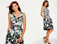 NWT TALBOTS LADYS COTTON FLORAL OPRAH MAGAZINE COLLECTION DRESS SIZE 14 ($190)