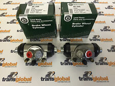 Land Rover Series 2 & 3 SWB Left & Right Rear Wheel Cylinders  1980 Bearmach
