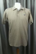 Fred Perry 100% Cotton Pique Polo Shirt - Large