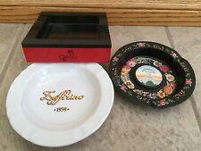 Lot of 3 Ristorante Zeffirino, Queen Elizabeth 2, Washington DC Ashtrays bx31