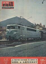la vie du rail N°737 du 6 mars 1960 lens à lapugnoy