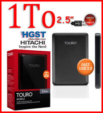 "1To 2,5"" HITACHI HGST TOURO Disque dur Externe Portatif HDD USB 2.0/3.0 1000 Go"